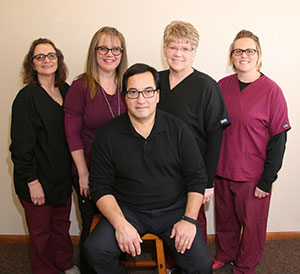 Dr. Ostenso staff